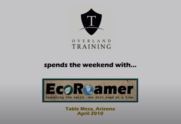 Overland Training with EcoRoamer
