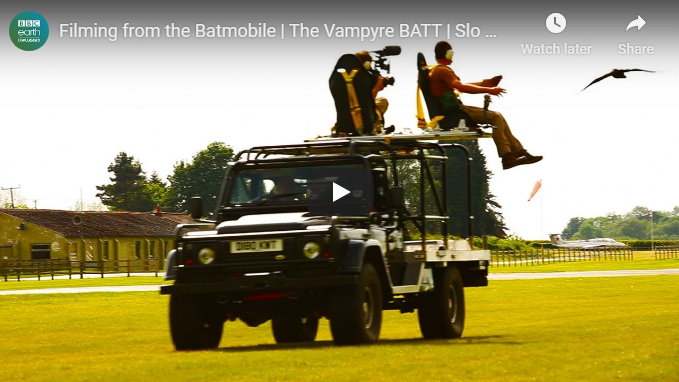 BBC Earth Unplugged slow motion with the VampyreBATT