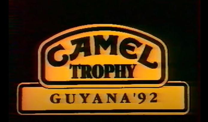 Camel Trophy Guyana '92